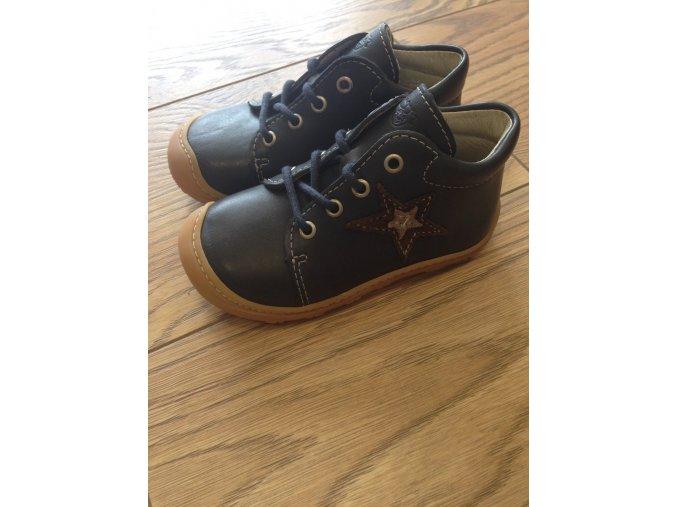 Celoroční kožené boty Romy see M - tkanička, Ricosta Pepino