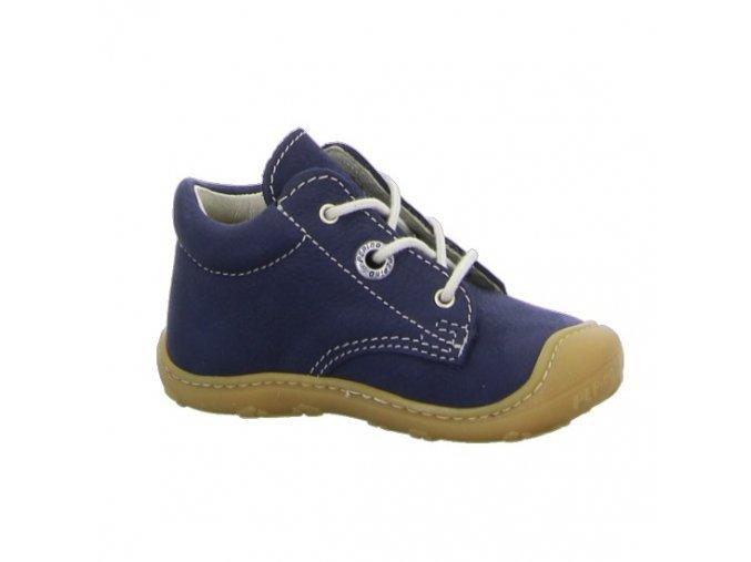 Celoroční kožené boty Cory see W - tkanička, Ricosta Pepino