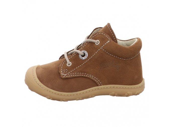 Celoroční kožené boty Cory curry W - tkanička, Ricosta Pepino