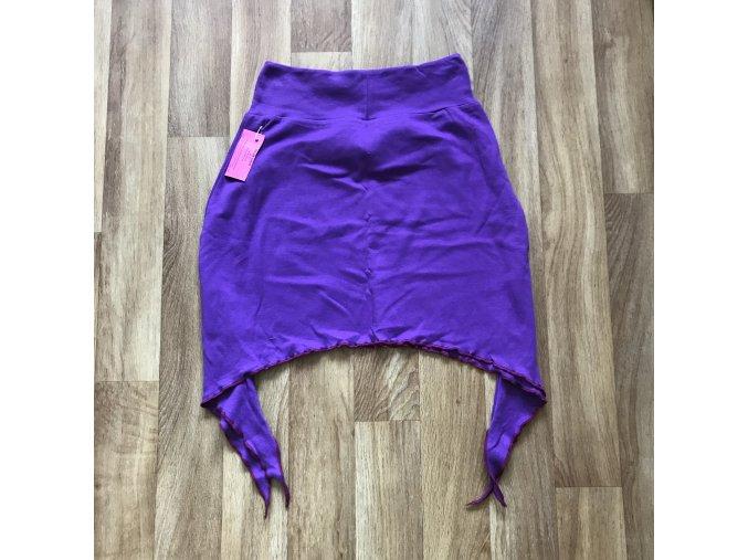 Dámská sukně s cípy - fialová, Petra Kalistia Lammas