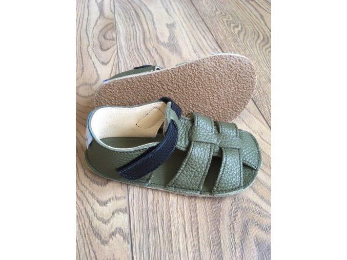 Baby Bare Shoes Bosco - páskové sandále, Baby Bare Shoes
