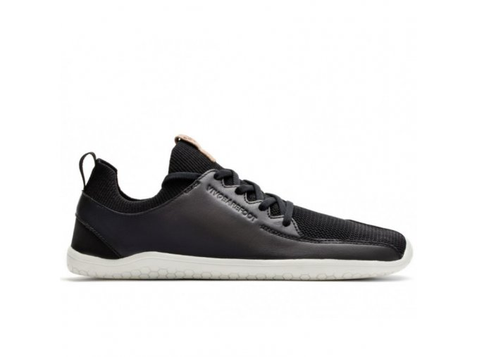 PRIMUS KNIT M Black Leather, Vivobarefoot