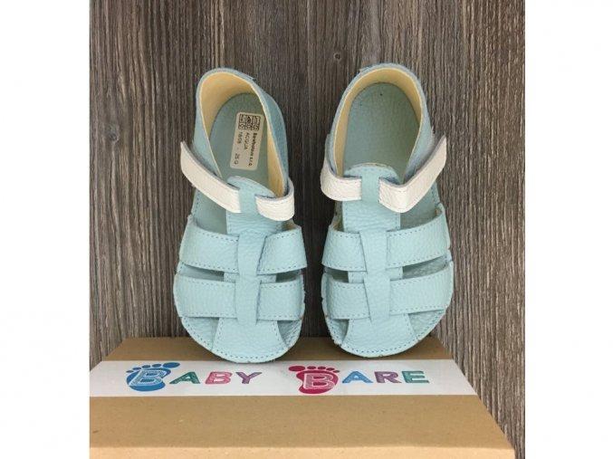 Baby Bare Shoes Acqua - páskové sandále, Baby Bare Shoes