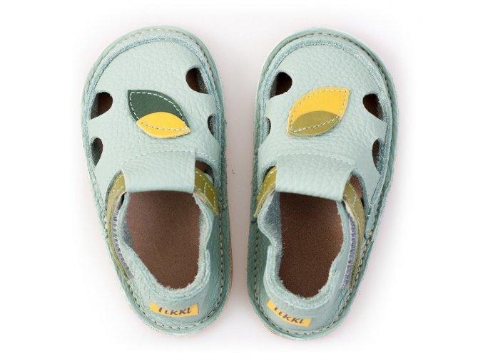Sandálky Magic Forest - podrážka 2 mm, Tikki shoes