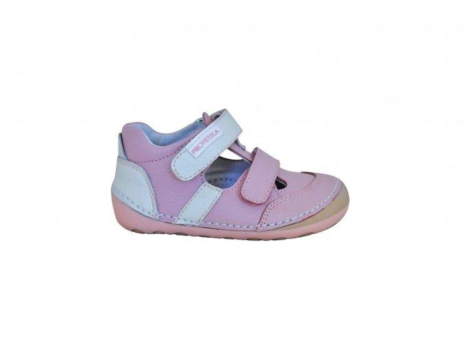Barefoot sandály FLIP pink, Protetika