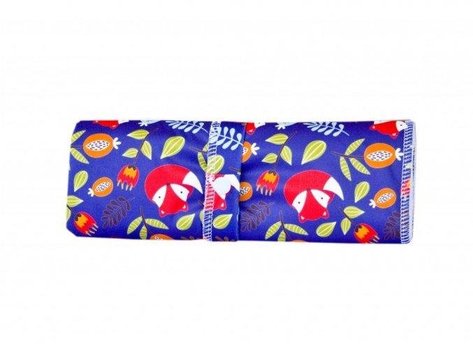 Přebalovací podložka PUL - Lišky na modré, Majab