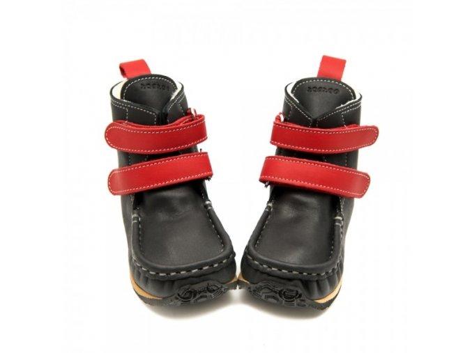 YETI Black/Red Sheepskin (W), Zeazoo