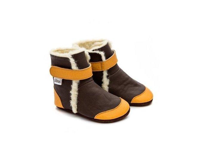 Zimní botičky Liliputi - Gingerbread, Liliputi®