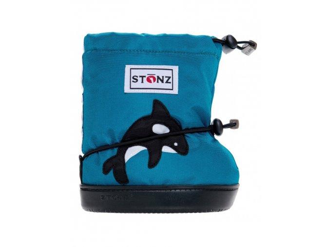 STONZ BOOTIES TODDLER - Orca Teal, STONZ