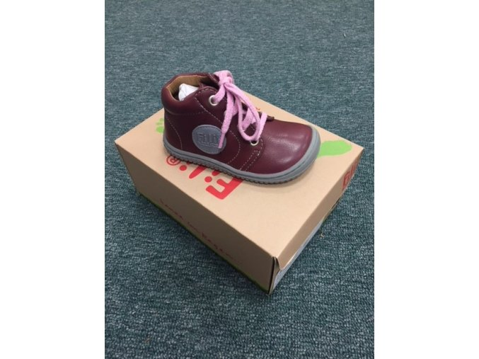 Gecko Laces Nappa Berry M, Filii barefoot