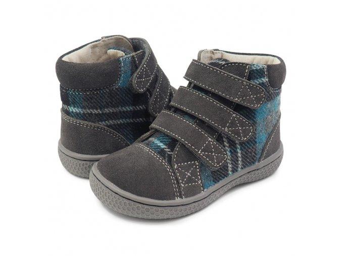 Jamie Gray Plaid - Textile/Leather, Livie and Luca EU