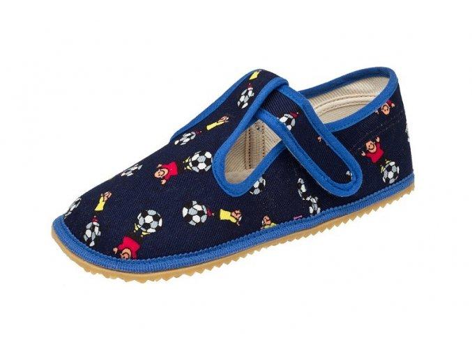 Bačkůrky - modrý fotbal, Boty Beda