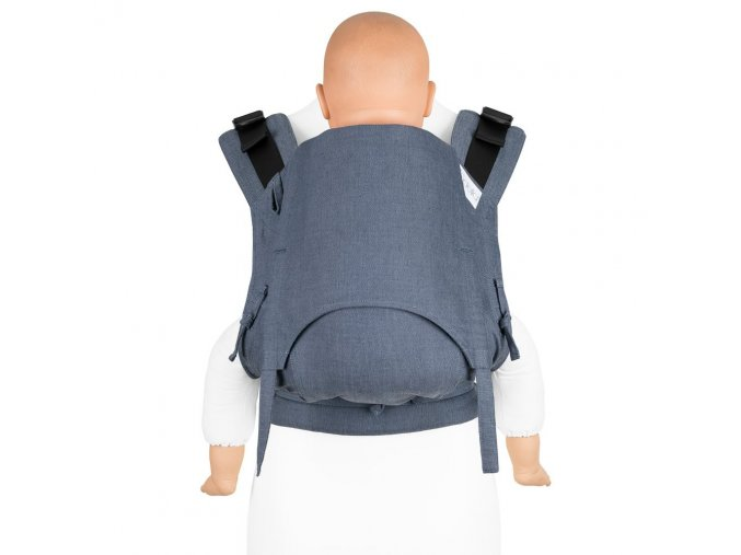 Fidella Fusion 2.0 TODDLER ergonomické nosítko s přezkami - Chevron - blau - Toddler