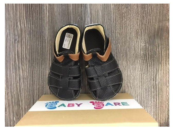 Baby Bare Shoes Lion - páskové sandále, Baby Bare Shoes