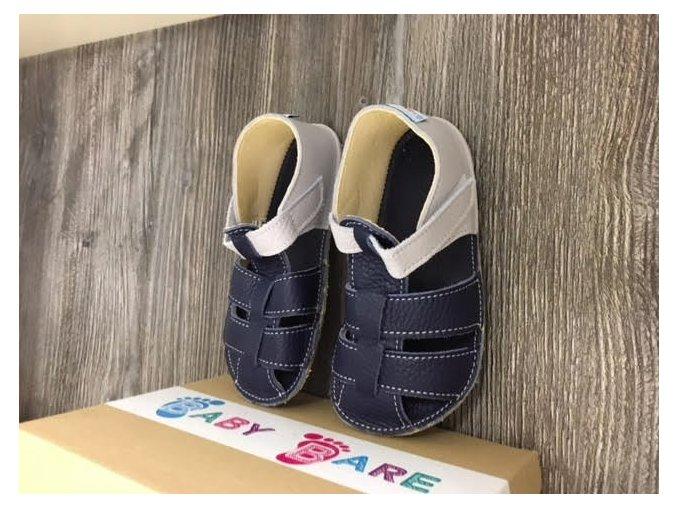 Baby Bare Shoes Gravel - páskové sandále, Baby Bare Shoes