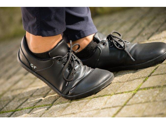 Gabi Bare Black, Ahinsa shoes