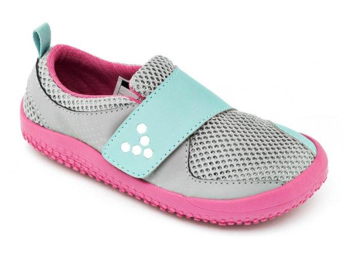 PRIMUS MINI K Mesh Grey/Pink, Vivobarefoot