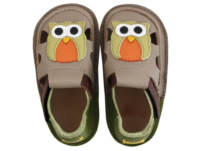 Sandálky Summer owl - podrážka 2 mm, Tikki shoes