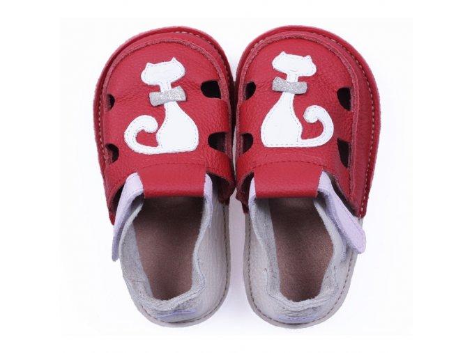 Sandálky Musette - podrážka 2 mm, Tikki shoes