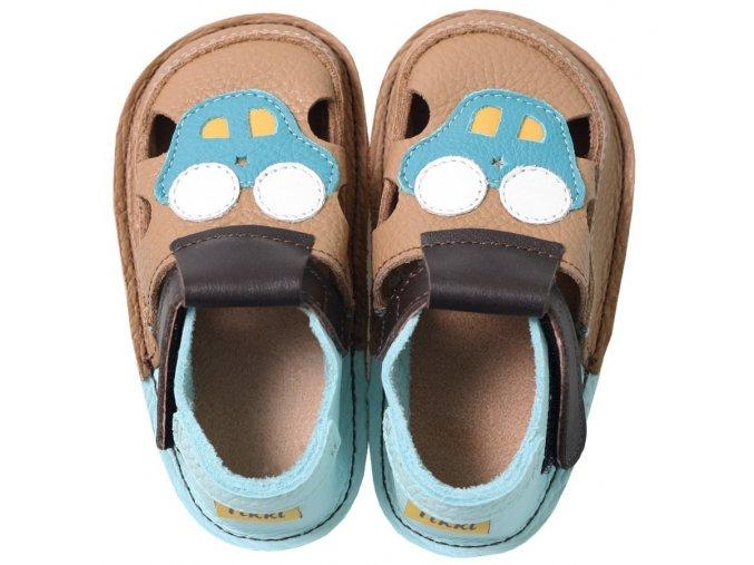 Sandálky Adventures by car - podrážka 2 mm, Tikki shoes