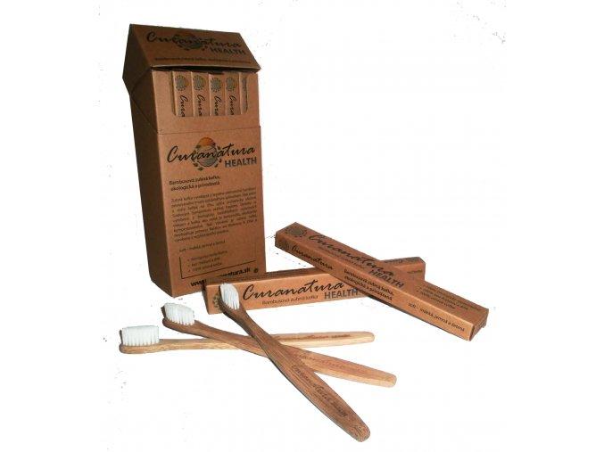 Bambusový zubní kartáček - CURANATURA HEALTH (soft), Curanatura