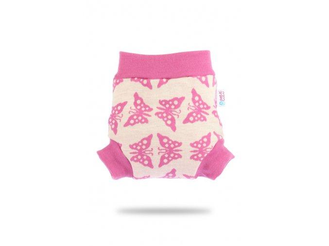 Vlněné svrchní kalhotky - Růžoví motýlci, Petit Lulu