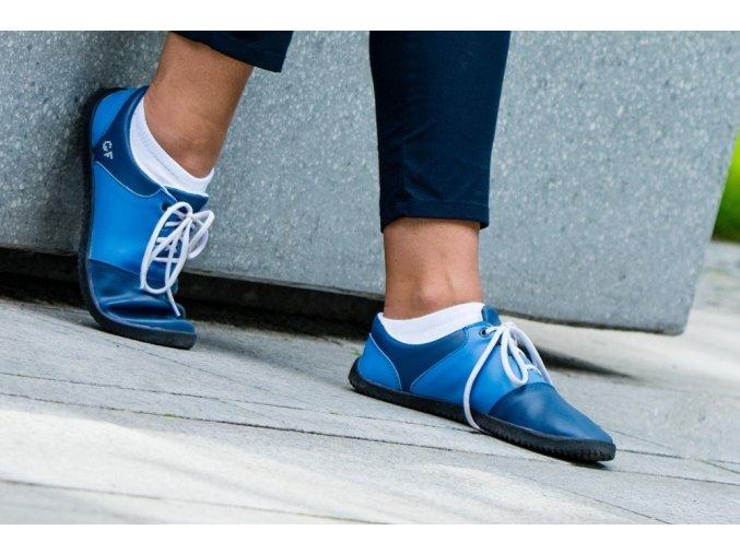 Blue Gabi, Ahinsa shoes