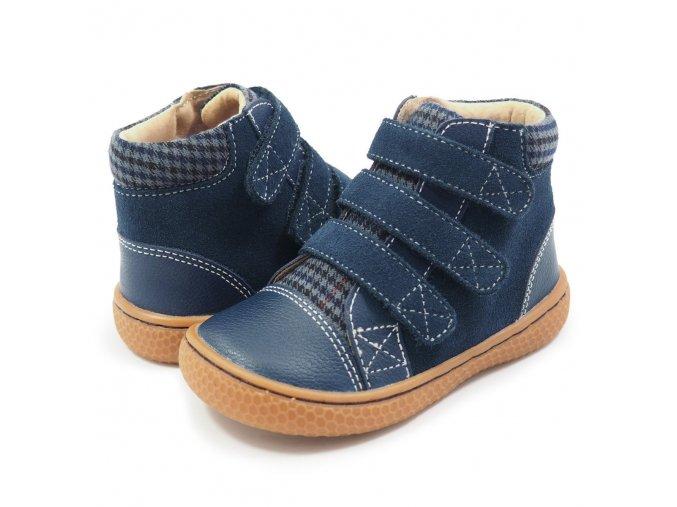 JAMIE Navy Blue - High-Top Sneaker, Livie and Luca EU