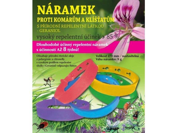 Repelentní náramek proti komárům a klíšťatům, Hanna Maria