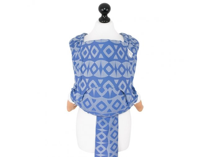 New Size: Fidella Fly Tai - Mei Tai - Night Owl -smooth blue-