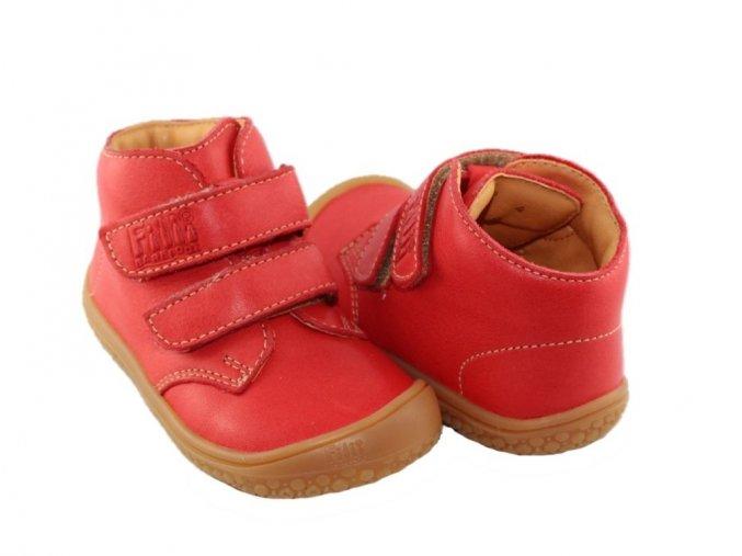 SOFT TOE Klett - Strawberry M, Filii barefoot