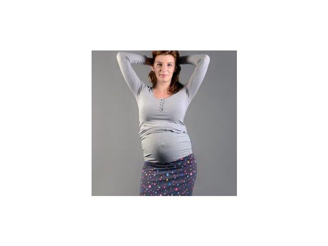 Těhotenský pás - šedý, Nice Belly