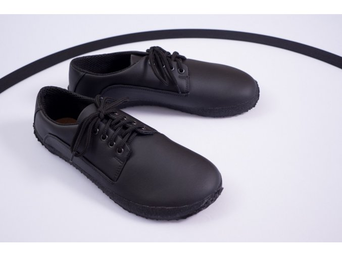 Černá společenská (Sundara) - Vibram podrážka, Ahinsa shoes