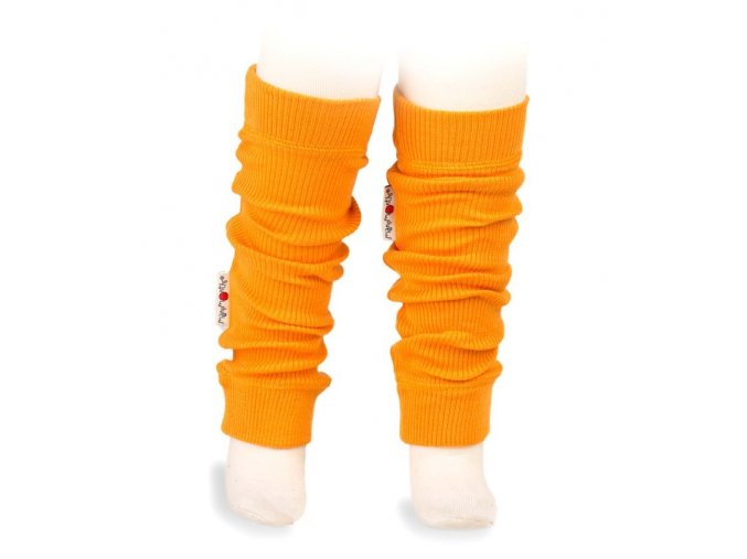 Návleky - merino - Saffron Yellow, Manymonths