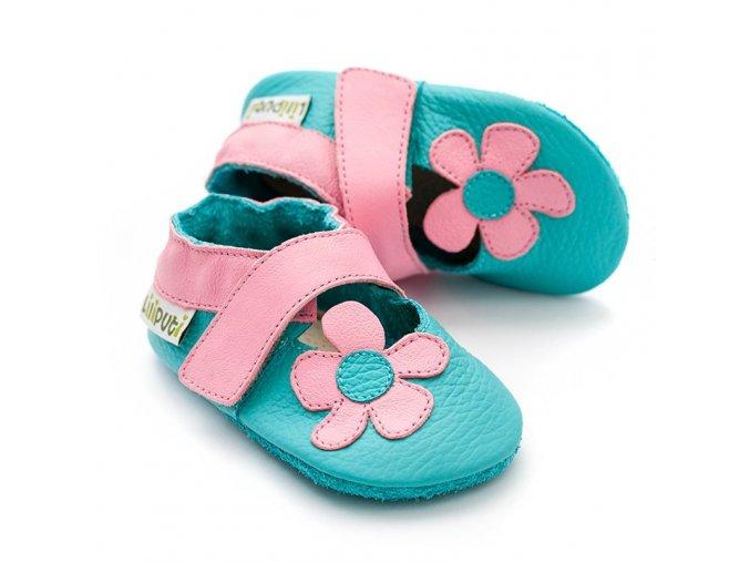 liliputi soft baby sandals kalahari turquoise 5040.png