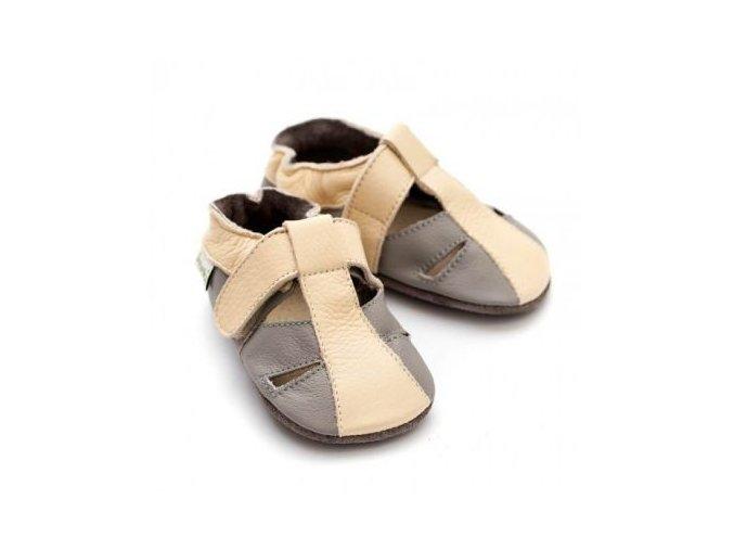 Sandále Liliputi - Atacama grey, Liliputi®