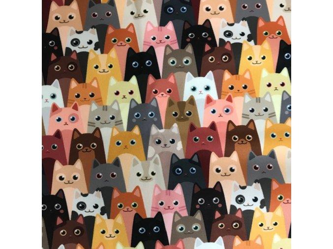 Přebalovací podložka (PUL) - Kočky na divadle, Breberky