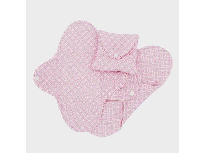 Hygienické vložky denní - růžová (sada 3 ks), Imse Vimse
