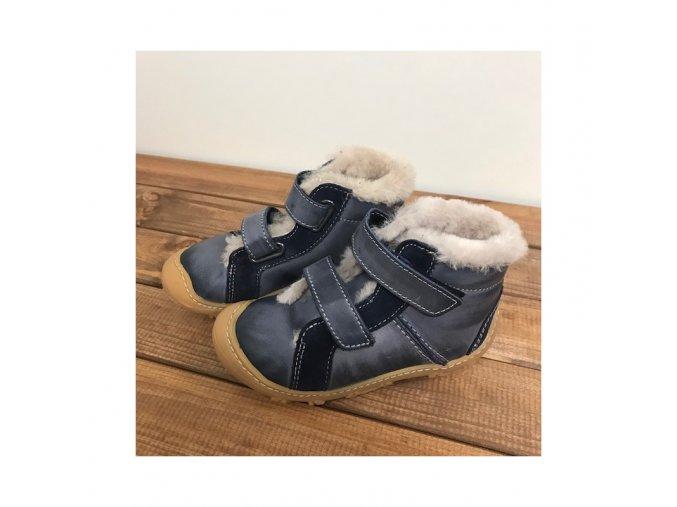 Zimní kožené boty LIAS See W na suchý zip, Ricosta Pepino