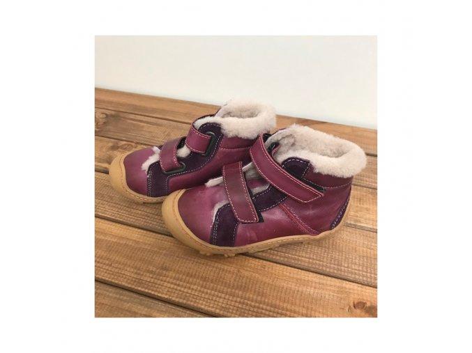 zimni kozene boty lias merlot w na suchy zip ricosta pepino 4