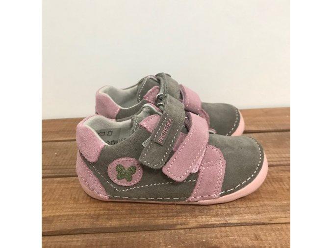 Celoroční kožené boty VALERY pink, Protetika