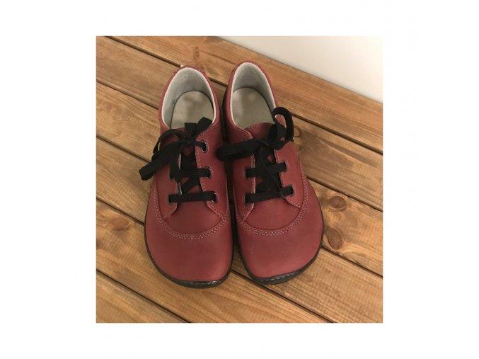 unisex celorocni boty cervena tkanicka fare bare 5