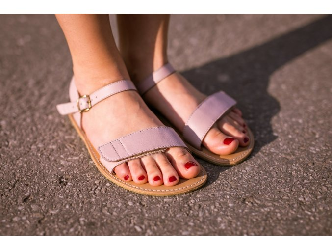 barefoot sandale be lenka grace rose 2073 size large v 1