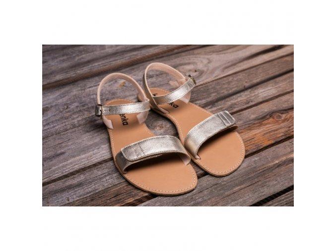 predobjednavka barefoot sandaly grace gold be lenka