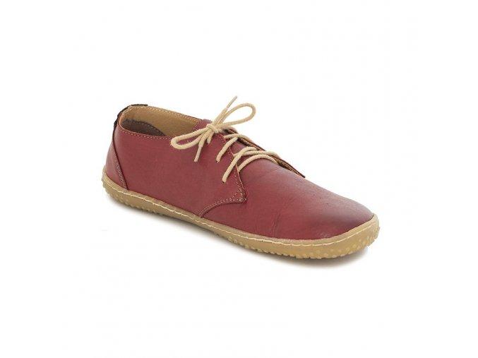 celorocni damske boty liberty red okbarefoot