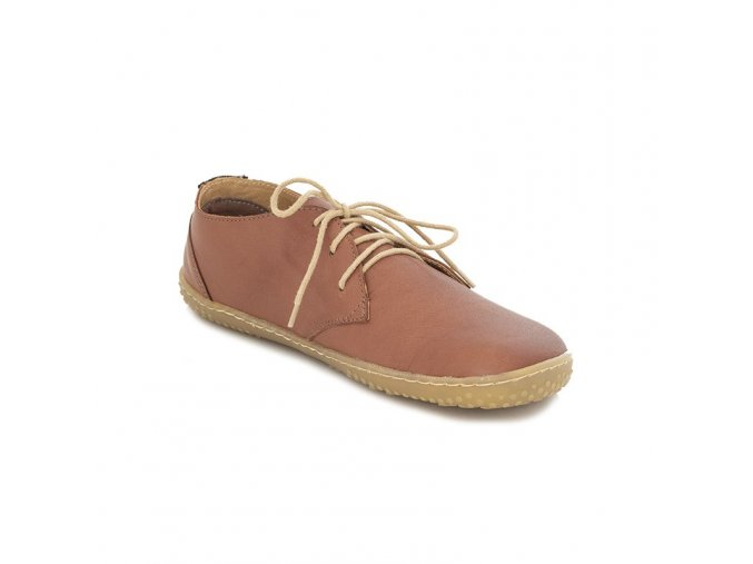 celorocni damske boty liberty brown okbarefoot