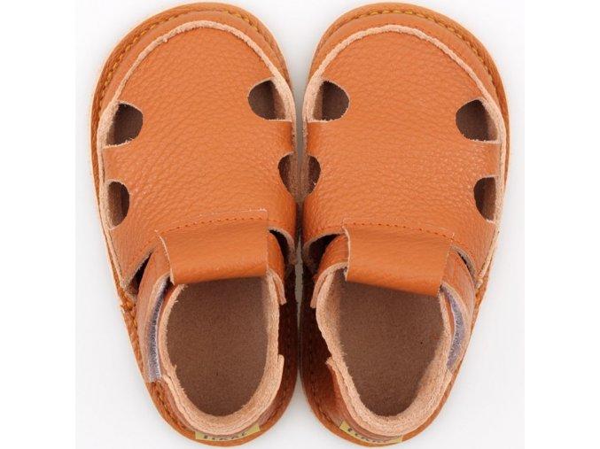 sandalky orange podrazka 2 mm tikki shoes