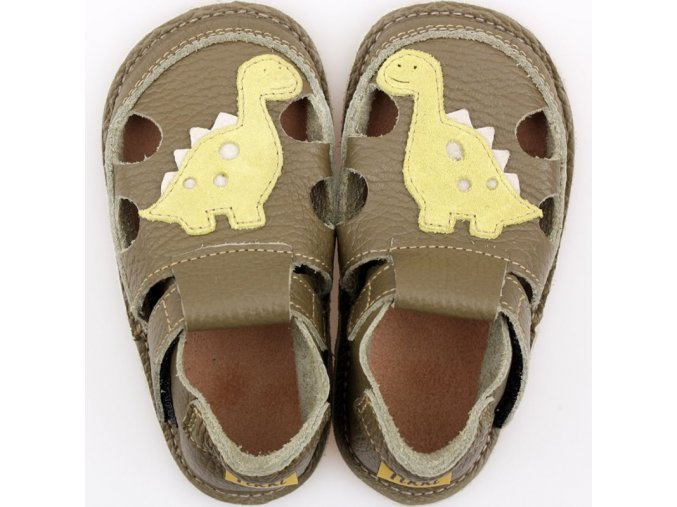 sandalky dino green podrazka 2 mm tikki shoes