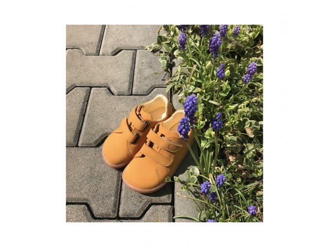 baby bare shoes febo spring mustand nubuk 7