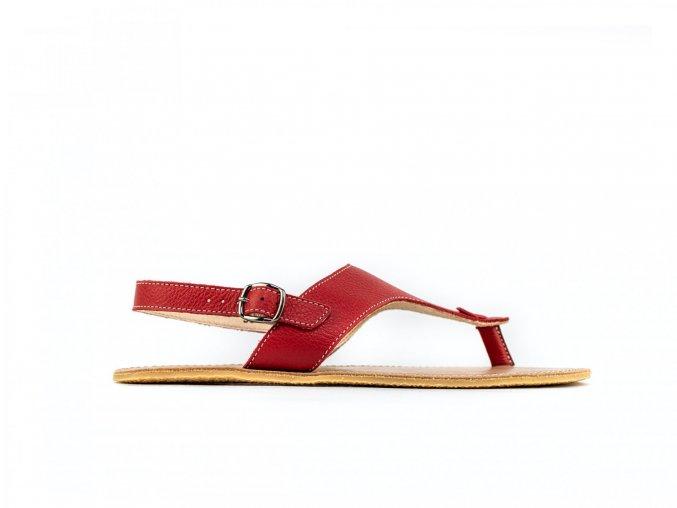 barefoot sandale be lenka promenade red 21 16087 size large v 1